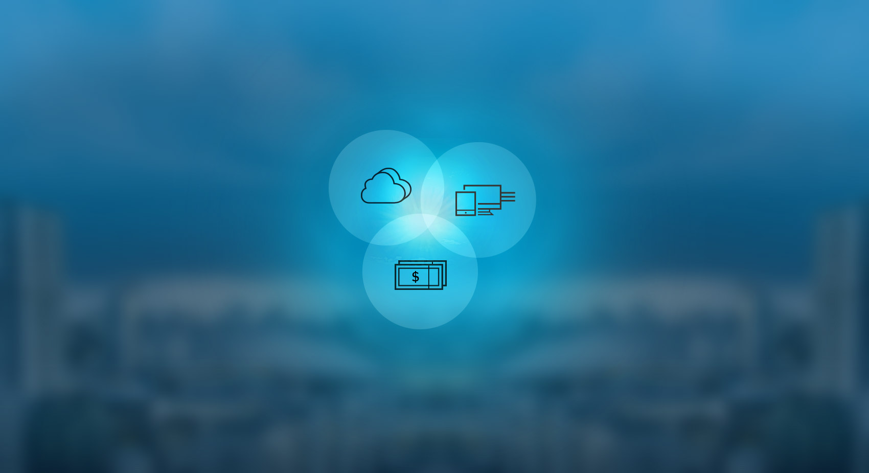 Cloud Solutions, Financial Solutions, Smart Solutions
